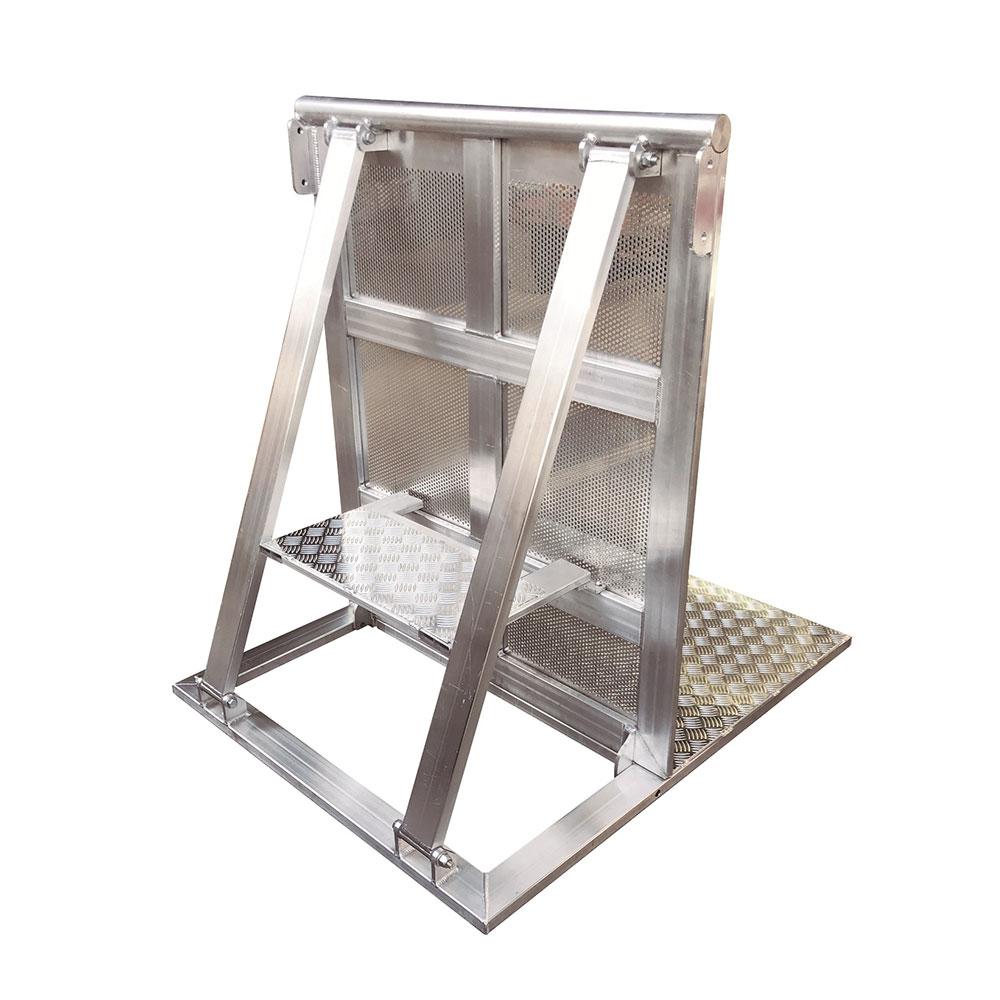 Barricada de Alumínio - 1000 X 1200MM (com degrau)