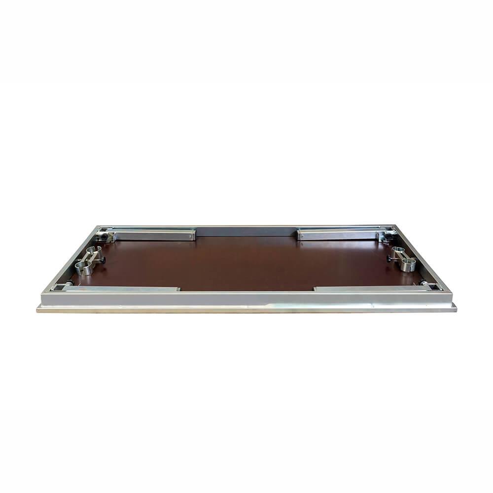 Praticável 2 x 1m – 600/900mm (com antiderrapante)